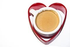 爱咖啡 免版税库存照片