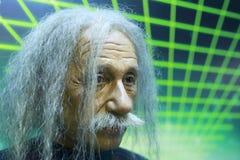 爱因斯坦的蜡象 免版税图库摄影