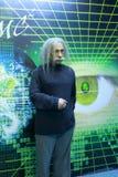爱因斯坦的蜡象 免版税库存图片