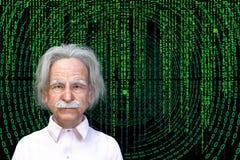 爱因斯坦,技术,科学,科学家,智力 库存图片