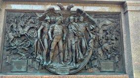 爱国战争的英雄1812 免版税库存照片