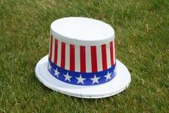 爱国的帽子 免版税库存照片