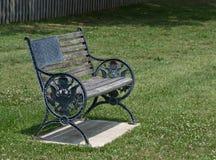 爱国者长凳在退伍军人的家 免版税库存图片