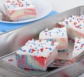 爱国蛋糕 库存图片