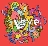 爱在情人节 库存例证