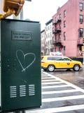 爱在纽约 库存照片