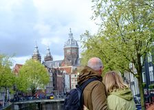 爱在阿姆斯特丹 免版税库存图片