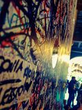 爱墙壁 图库摄影
