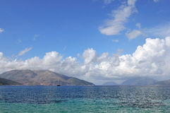 爱奥尼亚人海岛 库存照片
