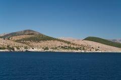 爱奥尼亚人海岸 免版税库存图片