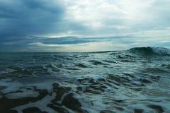 爱奥尼亚海。 免版税库存图片