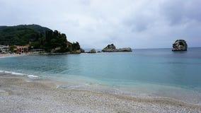 爱奥尼亚海的海湾 免版税库存图片