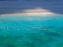 爱奥尼亚海的颜色 库存图片
