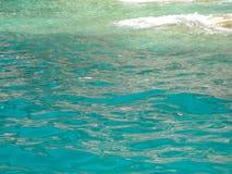 爱奥尼亚海的颜色 免版税库存图片