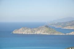 爱奥尼亚海 免版税库存照片