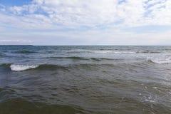 爱奥尼亚海 库存图片