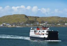 从爱奥那岛的回归轮渡 免版税库存照片