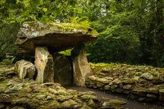 爱尔兰人国家重点文物公园 韦克斯福德 爱尔兰 免版税库存照片