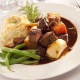 爱尔兰人的菜肴 免版税库存图片