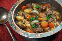 爱尔兰人的菜肴 图库摄影