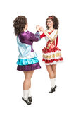 爱尔兰人舞蹈 库存照片