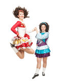 爱尔兰人舞蹈 免版税库存照片
