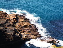 爱尔兰会见大西洋 库存图片