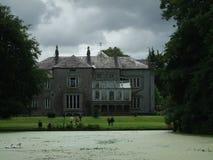 爱尔兰共和国,历史建筑,尼斯看法,梦之家,湖 免版税图库摄影