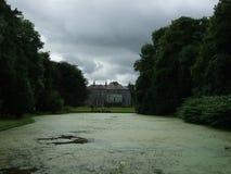 爱尔兰共和国,历史建筑,尼斯看法,梦之家,湖 免版税库存照片