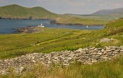 爱尔兰凯利农村横向的环形 库存图片
