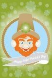 爱尔兰圣徒Patricks天-储蓄例证 免版税库存照片