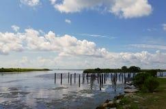 爱尔兰多沼泽的支流 免版税库存图片