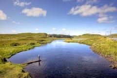 爱尔兰女渔翁 免版税图库摄影