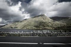 爱尔兰山 库存照片