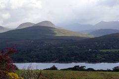 爱尔兰山 免版税库存图片
