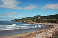 爱尔兰岩石岸 免版税库存照片