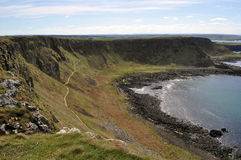 爱尔兰峭壁 图库摄影