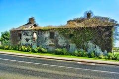 爱尔兰废墟 库存图片