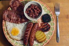 爱尔兰早餐 免版税库存图片