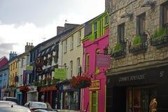爱尔兰村庄 免版税库存图片