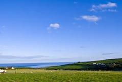 爱尔兰横向农村威克洛 免版税库存照片