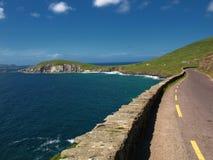 爱尔兰横向seacape充满活力的西部 免版税库存照片