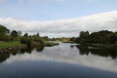 爱尔兰河 免版税库存照片
