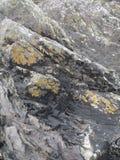 爱尔兰沿海岩石 图库摄影