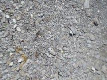 爱尔兰沿海岩石 免版税库存图片