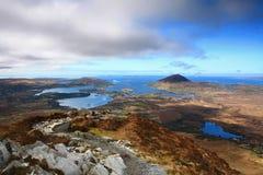 爱尔兰海岸线 免版税库存照片