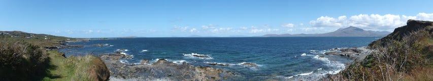 爱尔兰海景 免版税库存照片