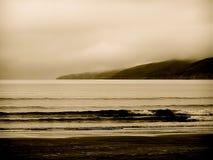 爱尔兰海浪 免版税库存图片