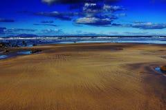 爱尔兰海滩 免版税库存照片
