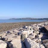 爱尔兰海 库存照片